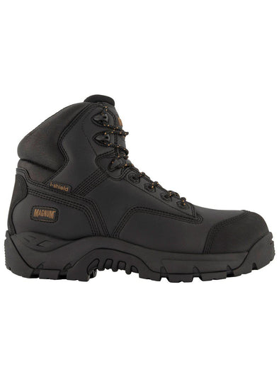 Magnum Precision Max CT WP Side Zip Boot - Black-Magnum-TacSource