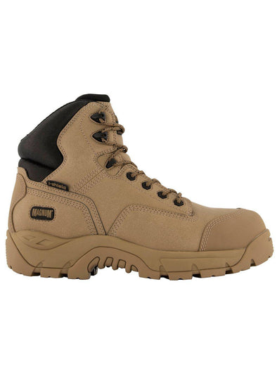 Magnum Precision Max CT WP Side Zip Boot - Stone-Magnum-TacSource