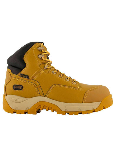 Magnum Precision Max CT WP Side Zip Boot - Wheat-Magnum-TacSource