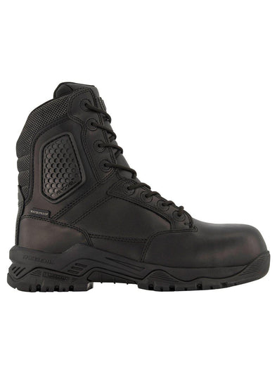 "Magnum Strikeforce 8"" Side Zip Leather CP Water Proof Boot-Magnum-TacSource"