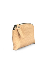 Load image into Gallery viewer, Pebbled Leather Purse - Beige