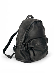 Must-Have Leather Backpack - Black