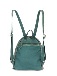 Must-Have Leather Backpack - Green