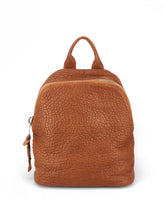 Load image into Gallery viewer, Pebbled Leather Backpack - Tan