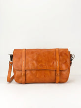 Load image into Gallery viewer, Concrete Leather Satchel - Tan