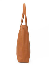 Load image into Gallery viewer, Roamer Leather Shopping Bag Set - Tan