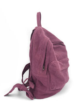 Load image into Gallery viewer, Natural Backpack - Mauve
