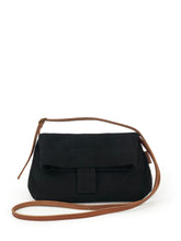 Load image into Gallery viewer, Natural Crossbody Bag - Black