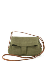 Load image into Gallery viewer, Natural Crossbody Bag - Green