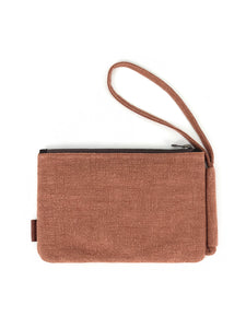 Natural Pouch - Rust