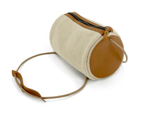 Load image into Gallery viewer, Natural Barrel Bag - Beige