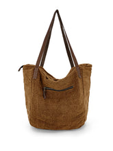 Load image into Gallery viewer, Natural Slouchy Bag - Ginger