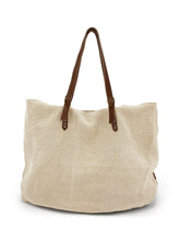Load image into Gallery viewer, Natural Carryall Bag - Beige