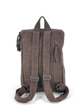 Load image into Gallery viewer, Top Zip Natural Backpack - Mocha