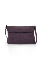 Load image into Gallery viewer, Natural Roll-top Bag - Plum