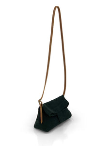 Natural Crossbody Bag - Black