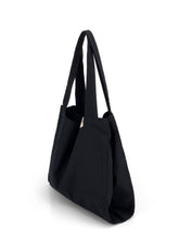 Load image into Gallery viewer, Natural Shopping Bag - Black