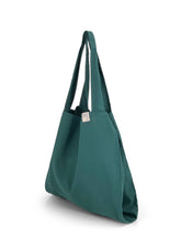 Load image into Gallery viewer, Natural Shopping Bag - Teal