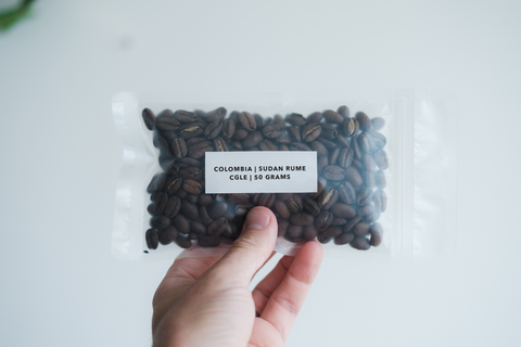 Standout coffee new bag