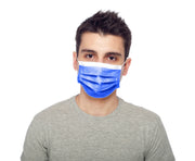 Dark Blue Premium Disposable Mask Pack - Palm beach mask