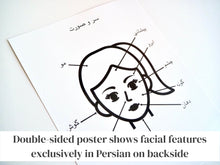 Load image into Gallery viewer, Persian / Farsi Body Parts Learning Set