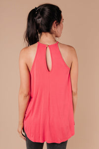 Just For Show Top In Pink
