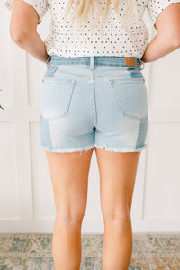 Two-Toned Shorts