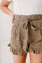 Load image into Gallery viewer, Short Leash Ruffled Shorts In Taupe