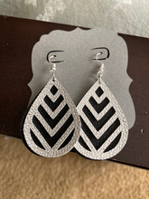 Load image into Gallery viewer, Beautiful Light Weight Handmade FAUX Leather Earrings