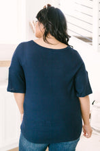 Load image into Gallery viewer, Always Be Yours Top in Navy