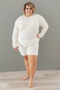 Annie Knit Top in Cream