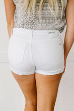 Load image into Gallery viewer, CLEAN SLATE WHITE JEAN SHORTS