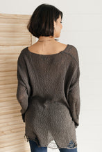 Load image into Gallery viewer, Distressed and Proud Sweater in Black