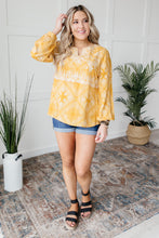 Load image into Gallery viewer, Embroidered In Sunshine Blouse