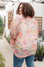 Load image into Gallery viewer, Floral Bell Sleeve Kimono in Pink