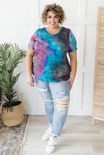 Load image into Gallery viewer, Forever in Love Tee in Teal and Purple