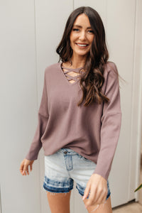 Oversized and Crossed Sweater