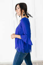 Load image into Gallery viewer, Royal Blue Dream Blouse