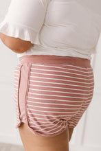 Load image into Gallery viewer, Varsity Stripes Bottoms in Rust