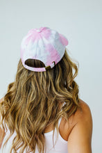 Load image into Gallery viewer, Bed Head Tie Dye Cap In Cotton Candy