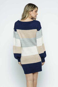 Sensational Striped Tunic Dress