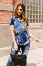 Load image into Gallery viewer, Cross My Heart, Hope To Tie Dye Top