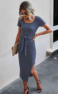 Lisa Front Tie Dress