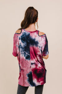 Out Of The Fire Cold Shoulder Top