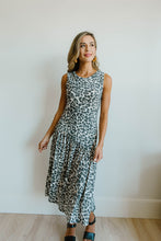 Load image into Gallery viewer, Sage Cheetah Dress