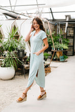 Load image into Gallery viewer, To The Max Striped Maxi In Mint