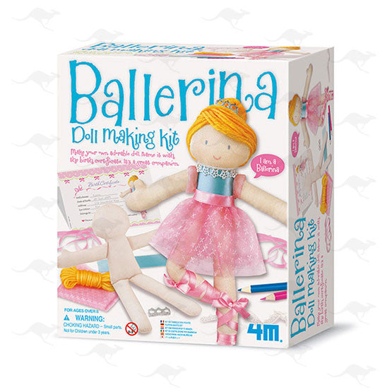 Easy-to-do Doll Making Kit/ Ballerina