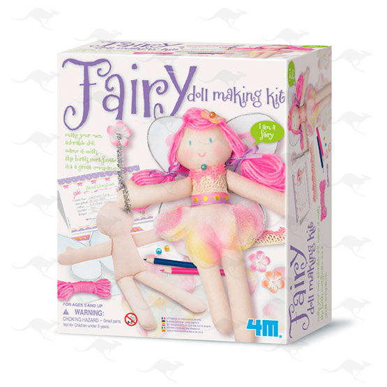 Easy-to-do Doll Making Kit - Fairy