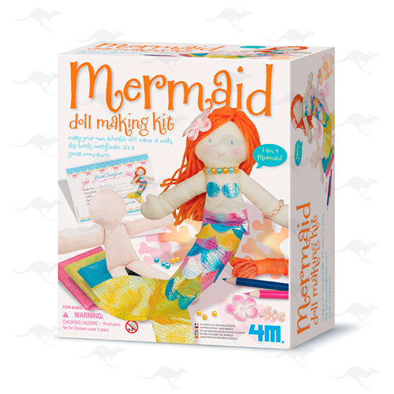 Easy-to-do Doll Making Kit - Mermaid