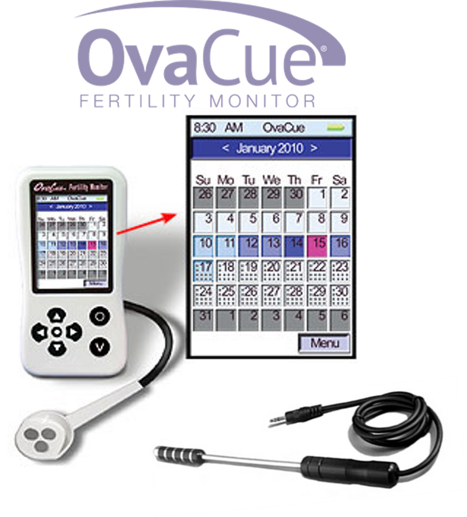OvaCue Monitor de Fertilidad (Sensor Oral + Vaginal)